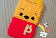 #Knitting / handmade knitted things: phone cases,bags,toys