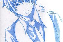 My drawings - Anime and Manga