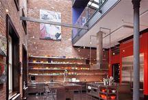 .: Industrial interior :.