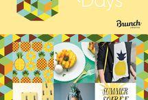 summer days ananas