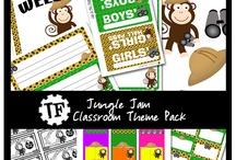 Jungle Themed Classroom / by Dana Phares