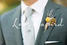 Boutonnières / Details for the bridal party and family members