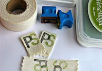 DIY Labels / Label ideas - stamp it !