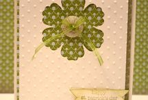 Blossom Stampin' Up! Punch Greeting Cards