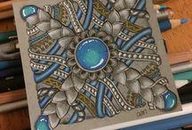Craft: Zentangle Gems