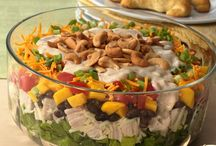 Salads/Dressings / by Debbie Sheets