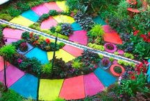 Gardens and Fairy gardens and wonderlands / by Brittany Reilly