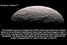 Dawn Spacecraft At Ceres