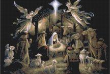 Nativity Cross Stitch
