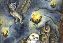 Art - Owls