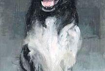 hond friesestabij schilderen