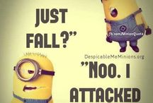 Minions / They are just so cute!!!!