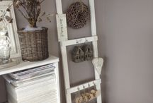 Ladder decor