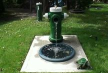 FireHydrantWaterFeature / by Marilyn DiPasquale