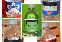 Louis Superhero Party Ideas / by Cristina TdS