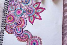 måla / mönster