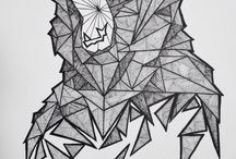 Geometric drawing