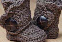 crochet sko