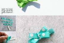 Baby Hair Accesories / DIY projects