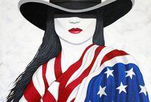 American Girl / http://lanceheadlee.com/american-girl/