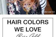 Hair colors/ Hair style