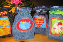 Jeans purses and bags