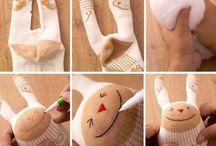 çorap bebekler