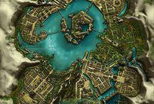 Plan villages et donjons