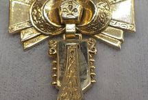 Vintage Jewerly Antique Watches, Fobs, Chains and Bow Pins / by Vintage House Boutique
