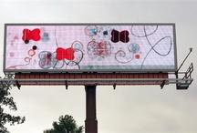 OOH Displaying Artwork