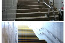 Case Studies - Before and After / Before and and after pictures on FibreGrid installations.