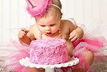 Kenzie's 1st birthday