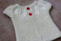 tricotaje copii / tricotaje lucrate manual cu andrele sau croset