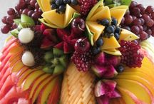 Különleges gyümölcs dekoraciok