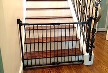 Baby Gates By Safe Baby / Here at SAFE BABY we don't just put any gate on your stairs. You select the Gate, the color, and the way it gets mounted. Our Customers also love the Screw-Less Gate Mounts.