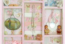 Pink Baby Cradle & Kids Bedroom & Stuff