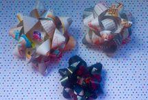 Christmas decoration ideas / Ideas and inspiration for Christmas decorations, wrapping and cards