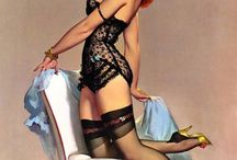Pin ups! / by Donna Dickson Moore