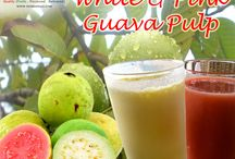 GUAVA – Pulp, Juice & Puree Concentrate / The new season for #Guavas has begun in #India with productions turning on across the fertile tropical regions of South India. We at Shimla hills have HACCP and ISO certifications and are one of the prime manufacturers and #suppliers of processed #guava products in India.