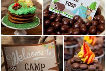 camp birthday