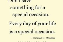 Quotes / Inspiration / Motivation