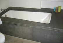 Bathtub ideas / Bikin bathtub buat kamar mandi tema alami natural