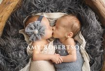 Twin newborn sessions / by Faith Koscho