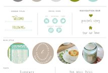 Branding Inspiration / Ideas and Inspiration for your business, blog, or personal branding! Brand Color Palettes, Brand Style Sheets, Brand Logo Ideas, and more!