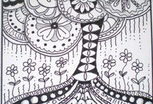Zentangle - Doodles / by Andrea Wright
