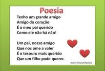 Poemas dia do pai
