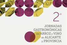 2ª Jornadas gastronómicas del arroz y vino de Alicante y provincia / Del 2 de octubre y hasta el 31, en 66 Restaurantes de Alicante y Provincia, podréis disfrutar de exquisitos menús desde 24 euros.Los menús consisten en 2 o 3 entrantes basados en productos autóctonos de la Comunitat Valenciana, un plato principal de arroz, postre y vino de Alicante