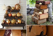 Fall Wedding Inspiration! / Here at Fisher's, we love fall & Halloween weddings!  Here are some of our favorite ideas!
