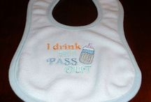 Machine Embroidery for Babies