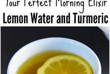 Detox drinks & lemon info
